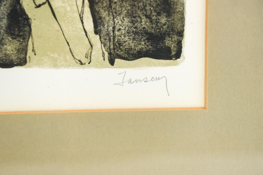 JEAN JANSEM (ARMENIAN/FRENCH 1920-2013) - 2