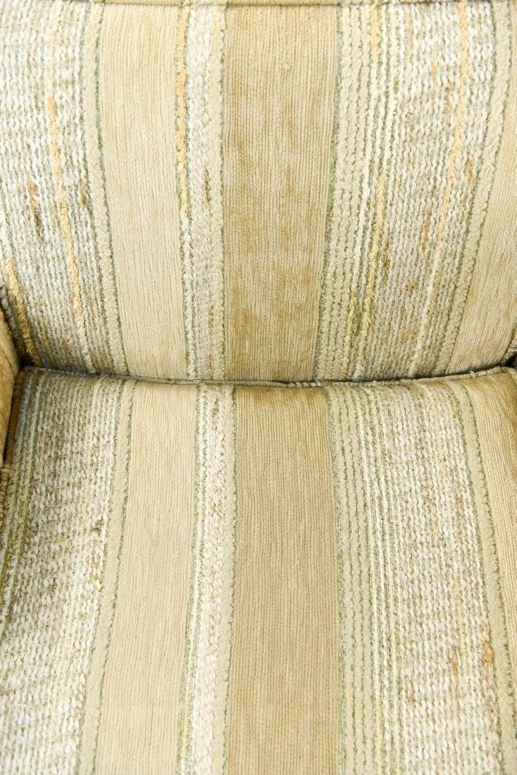 MID-CENTURY UPHOLSTERED LOUNGE CHAIRS - 4