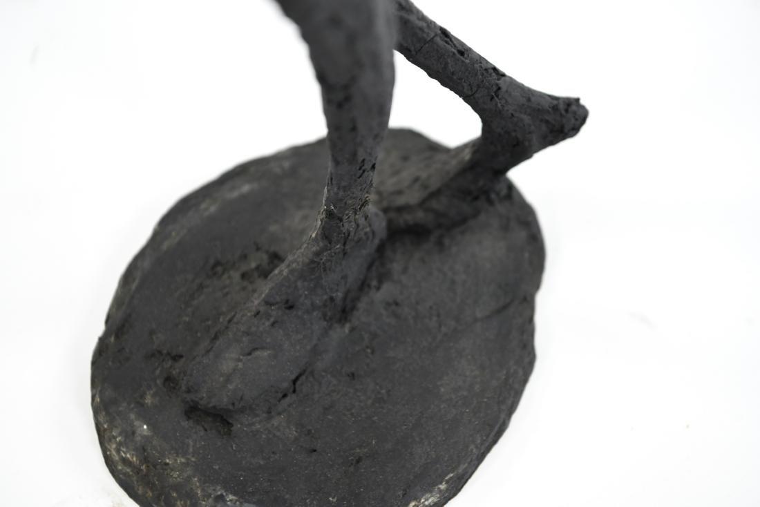 HARRY STUMP ABSTRACT FIGURE FIBERGLASS SCULPTURE - 10