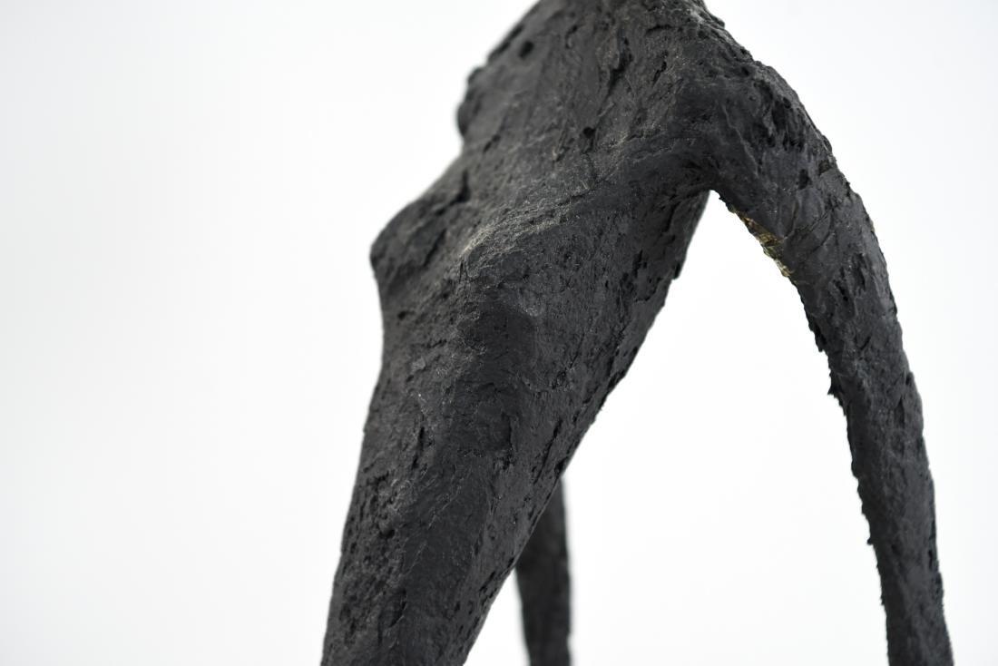 HARRY STUMP ABSTRACT FIGURE FIBERGLASS SCULPTURE - 8