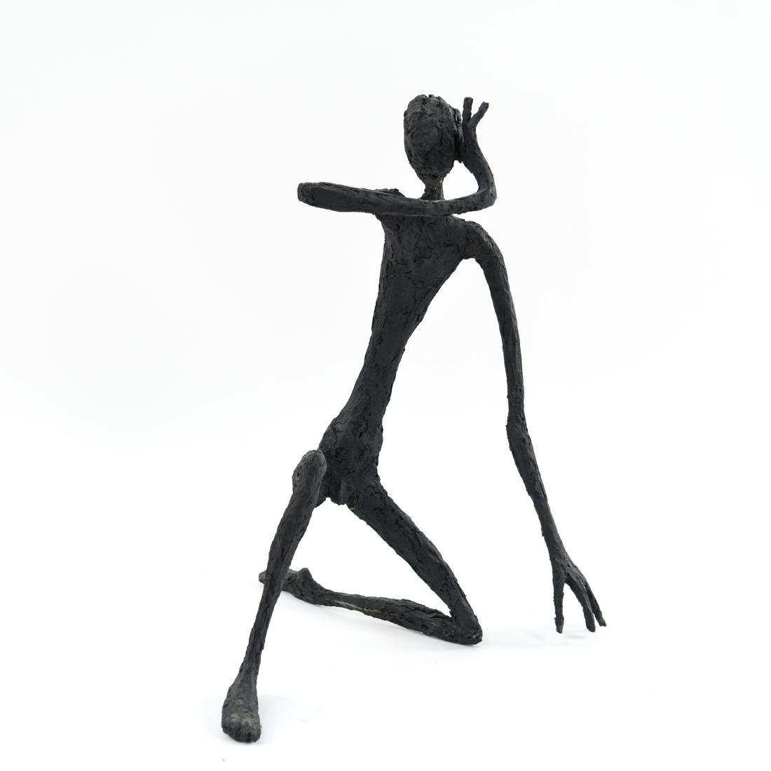 HARRY STUMP ABSTRACT FIGURE FIBERGLASS SCULPTURE - 6