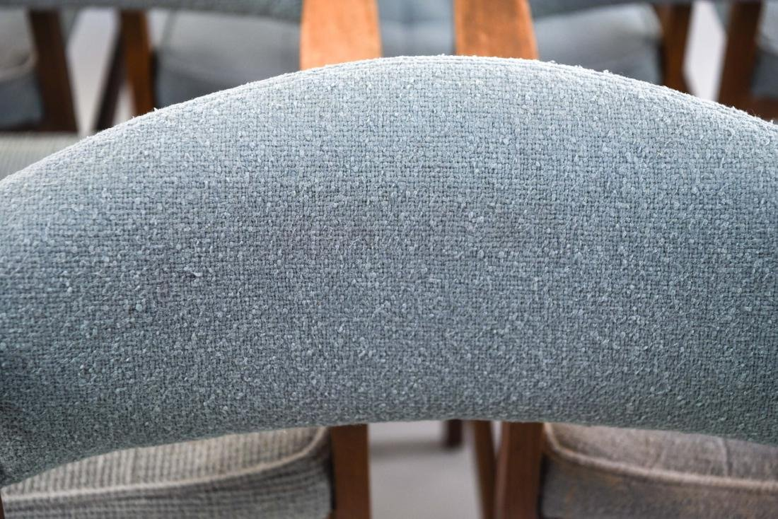 (6) MID-CENTURY UPHOLSTERED ARM CHAIRS CHAIRS - 5