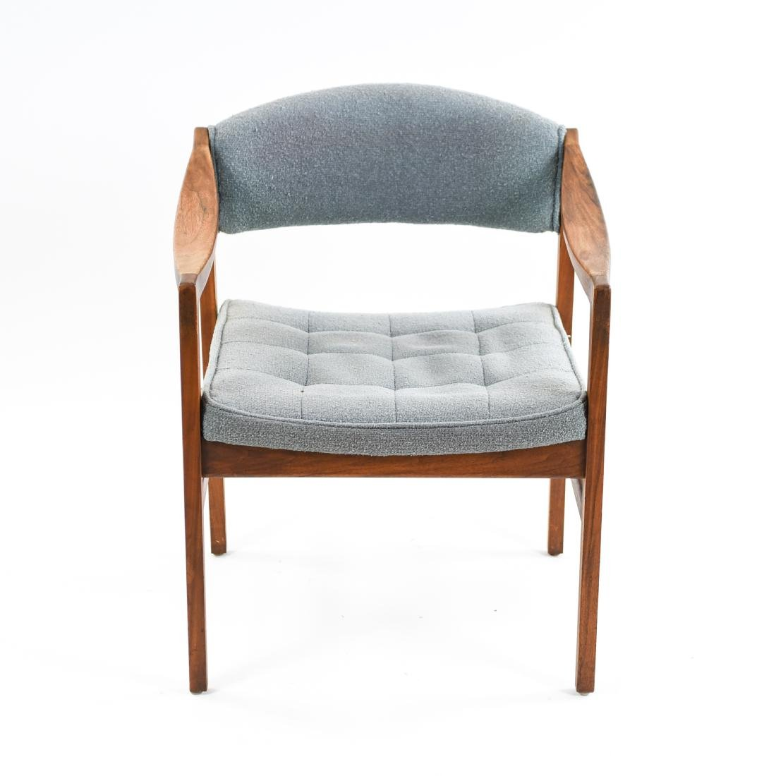 (6) MID-CENTURY UPHOLSTERED ARM CHAIRS CHAIRS - 6