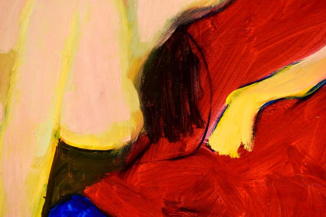 GENE SZAFRAN (AMERICAN 1941-2011) ABSTACT NUDE - 7
