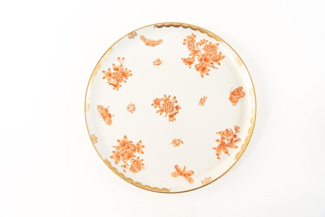 HUNGARIAN PORCELAIN DIVIDED SERVING TRAY - 10