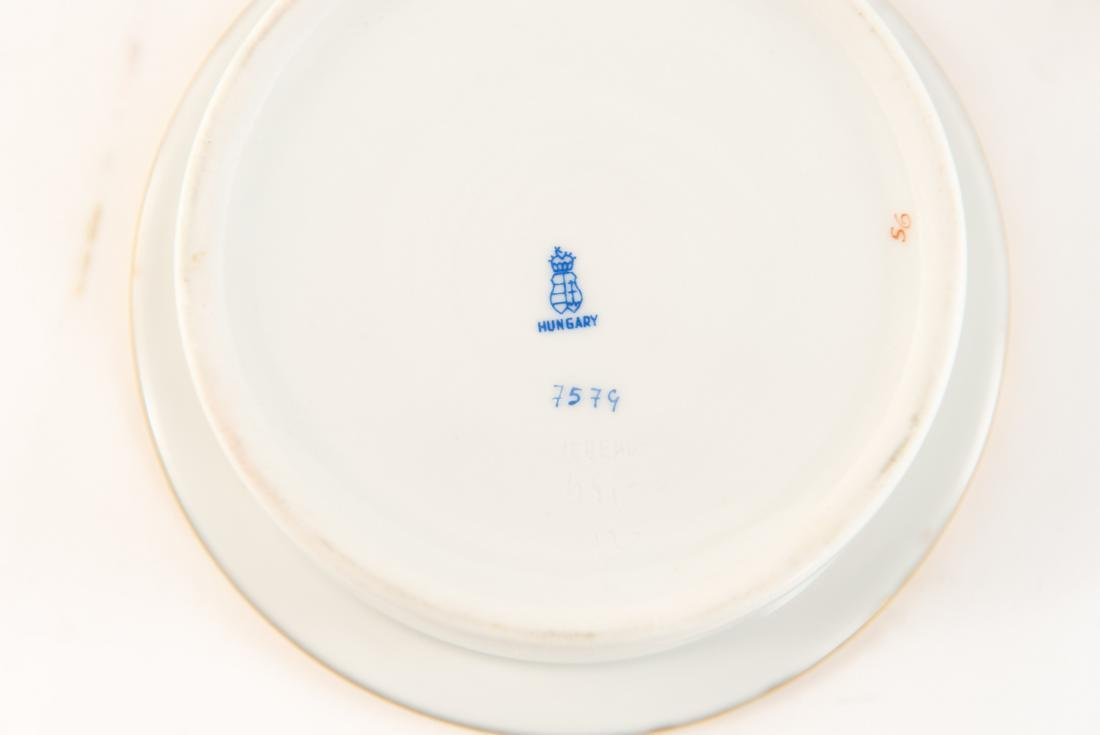 HUNGARIAN PORCELAIN DIVIDED SERVING TRAY - 5