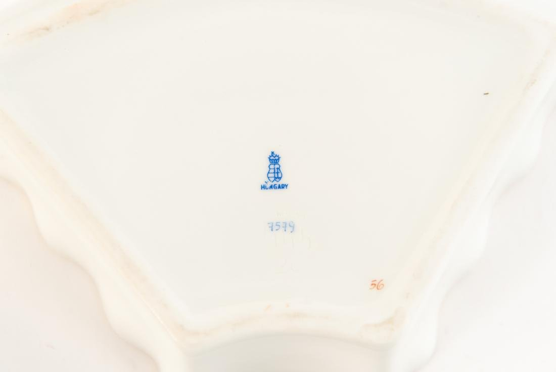 HUNGARIAN PORCELAIN DIVIDED SERVING TRAY - 6