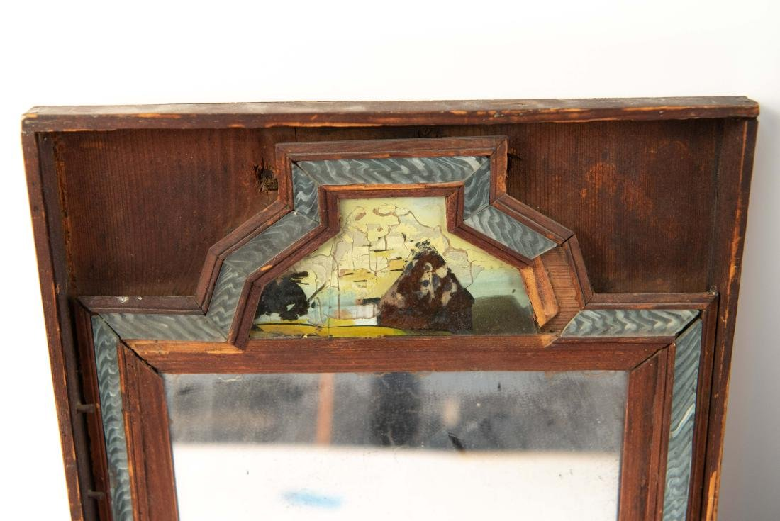 (2) 19TH C. ANTIQUE MIRRORS - 2