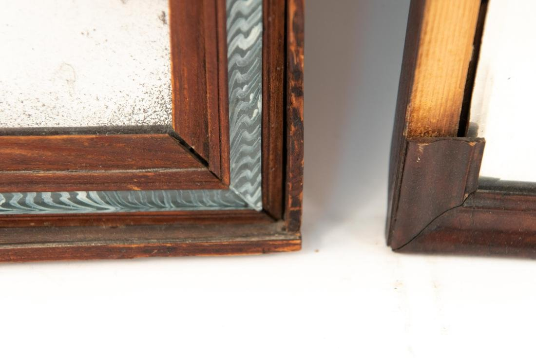 (2) 19TH C. ANTIQUE MIRRORS - 3