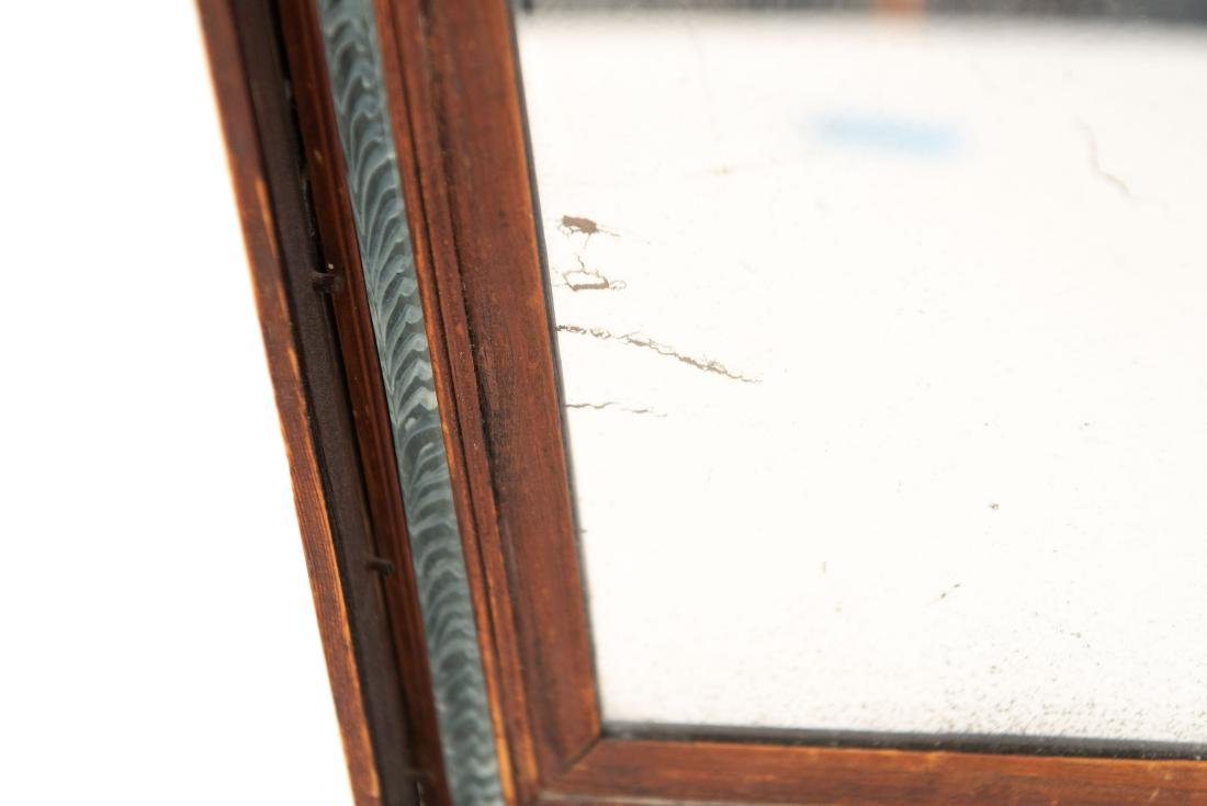 (2) 19TH C. ANTIQUE MIRRORS - 4