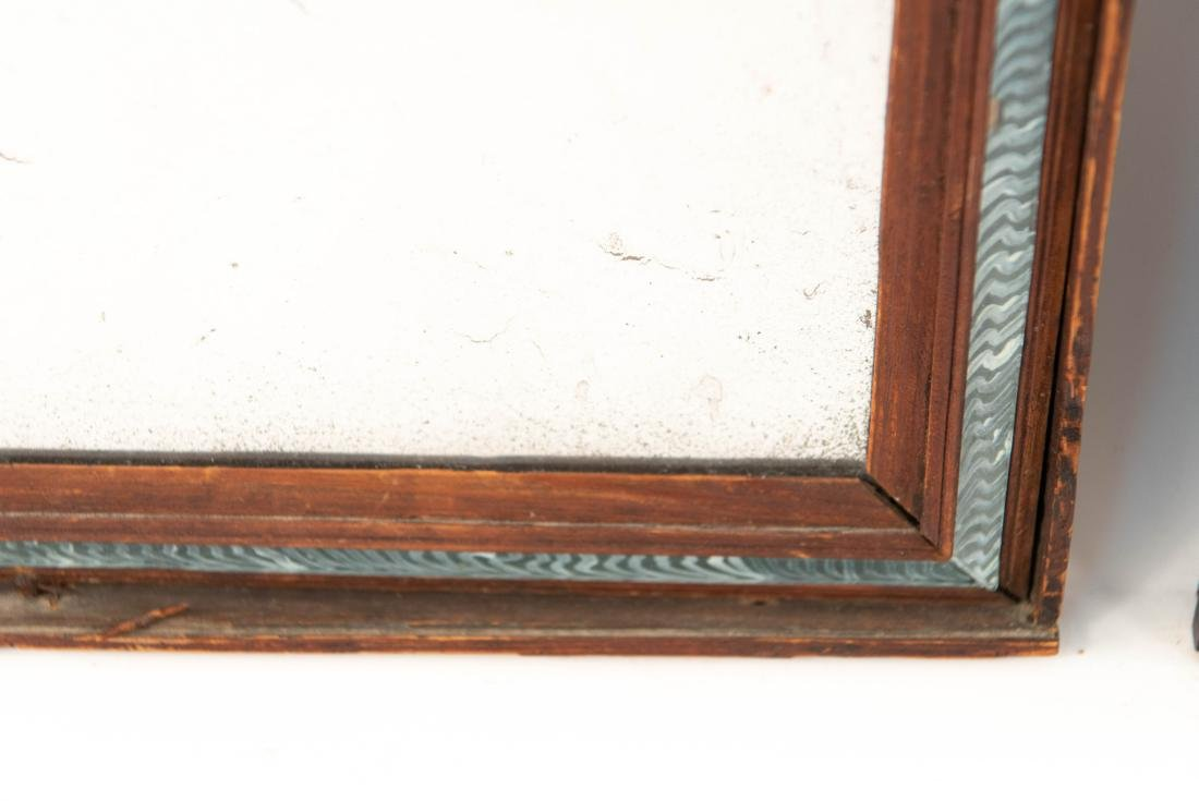 (2) 19TH C. ANTIQUE MIRRORS - 5