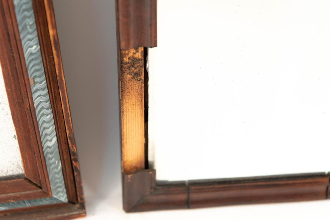 (2) 19TH C. ANTIQUE MIRRORS - 6