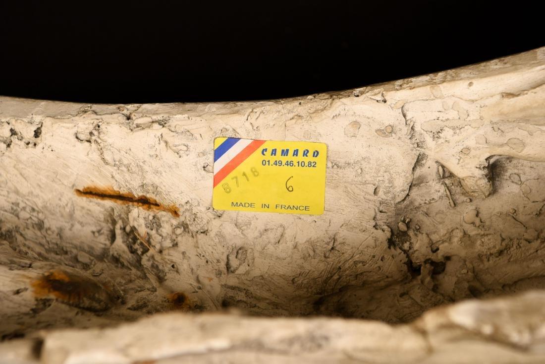 19TH C. PLASTER CAST CLASSICAL DRAPED FEMALE - 9