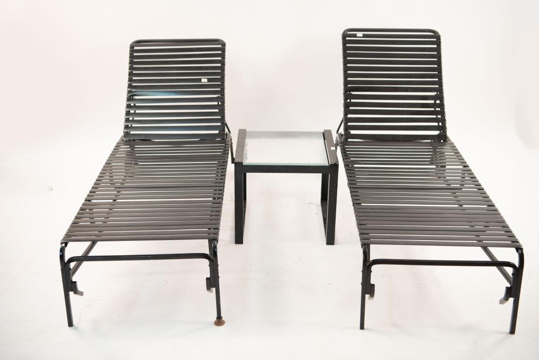 BROWN JORDAN OUTDOOR CHAISE LOUNGES ETC.