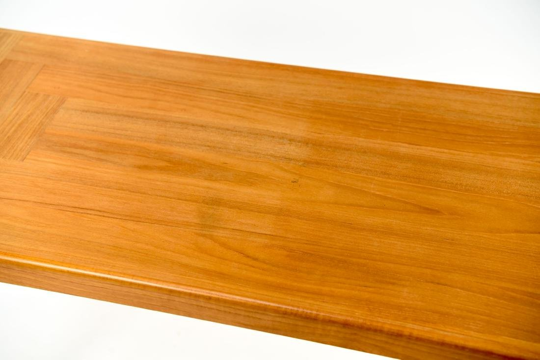 DANISH TEAK CONSOLE TABLE - 4