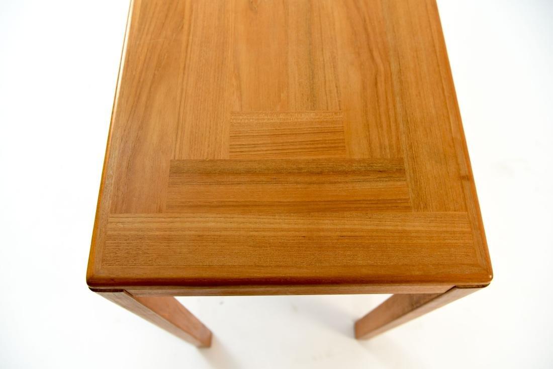 DANISH TEAK CONSOLE TABLE - 6