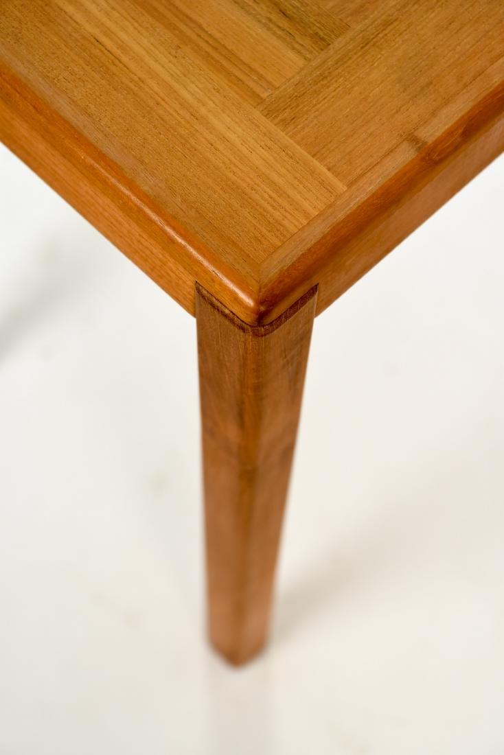 DANISH TEAK CONSOLE TABLE - 7