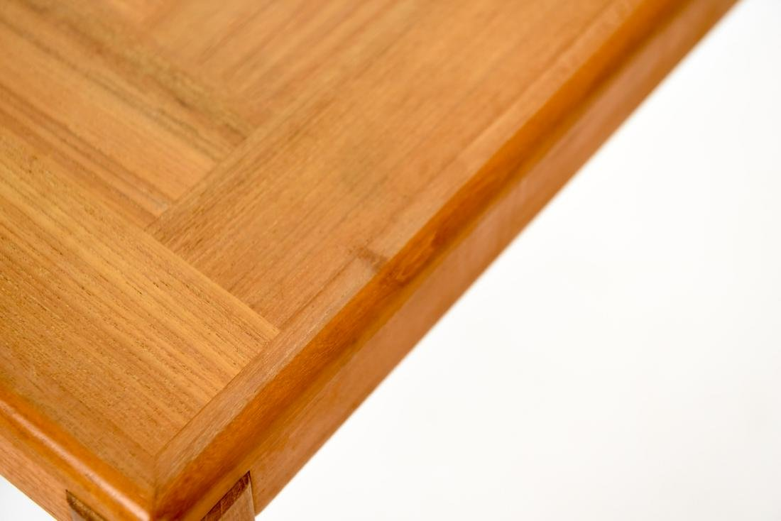 DANISH TEAK CONSOLE TABLE - 8