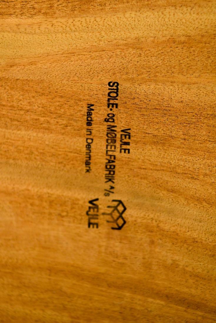 DANISH TEAK CONSOLE TABLE - 9
