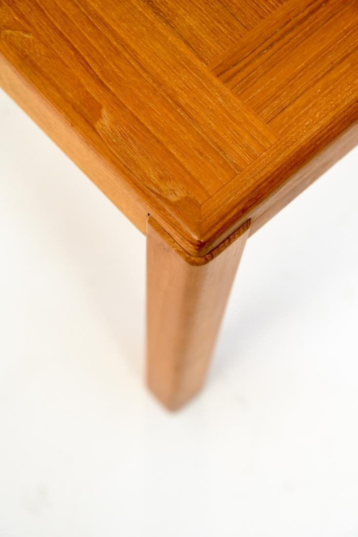 DANISH TEAK COFFEE TABLE - 6