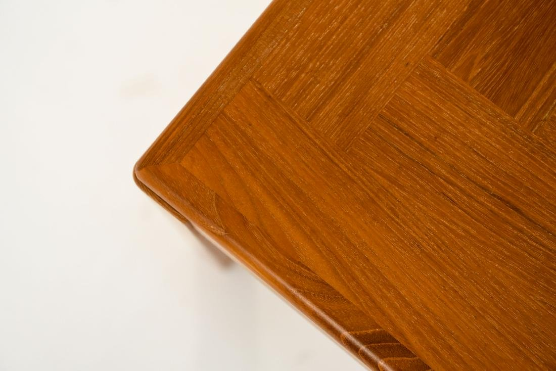 DANISH TEAK COFFEE TABLE - 7