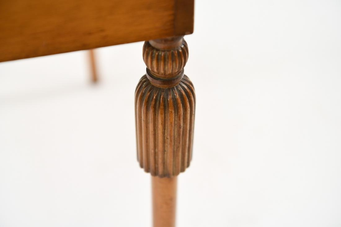 CARVED TASSEL LEG COMPARTMENT TABLE - 9