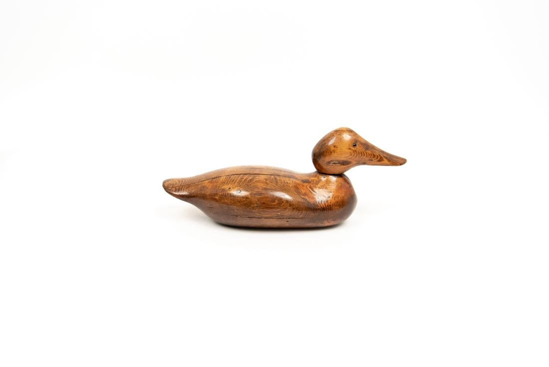 CARVED DUCK DECOY GROUPING - 6