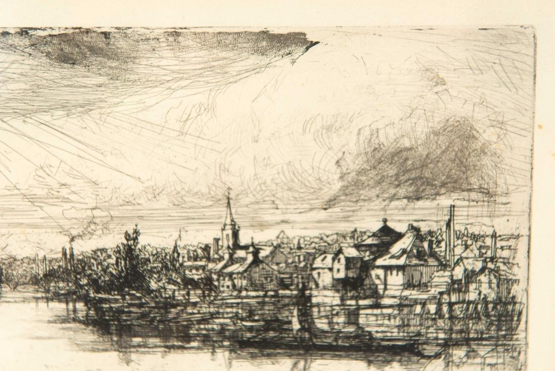 FRANCIS SEYMOUR HADEN (BRITISH 1818-1910) - 5