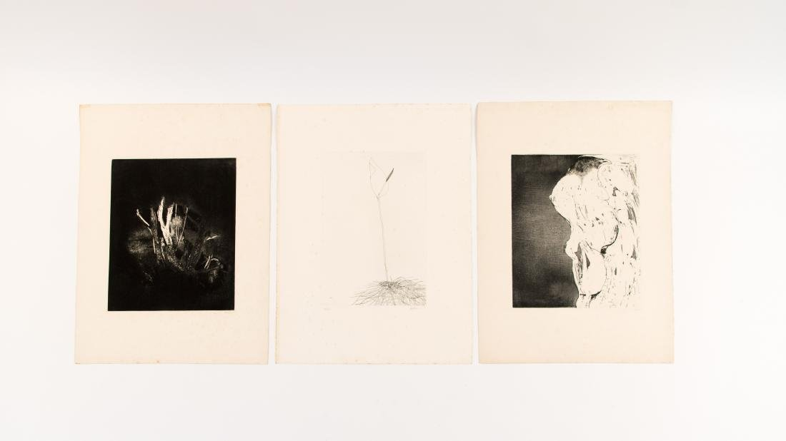 GROUPING OF LEONARD BASKIN PRINTS - 8