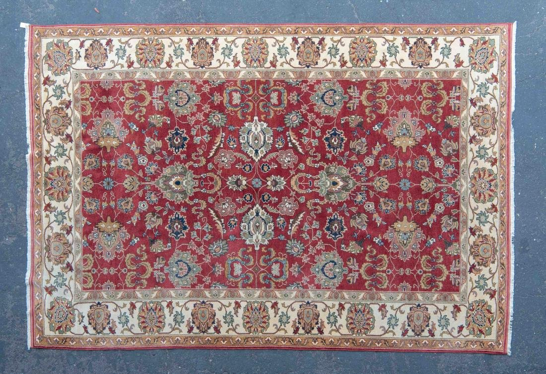 8 X 12 FEET FINELY WOVEN RUG