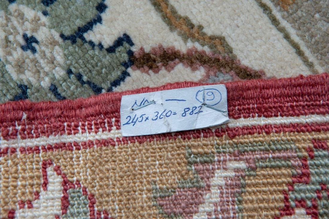 8 X 12 FEET FINELY WOVEN RUG - 8