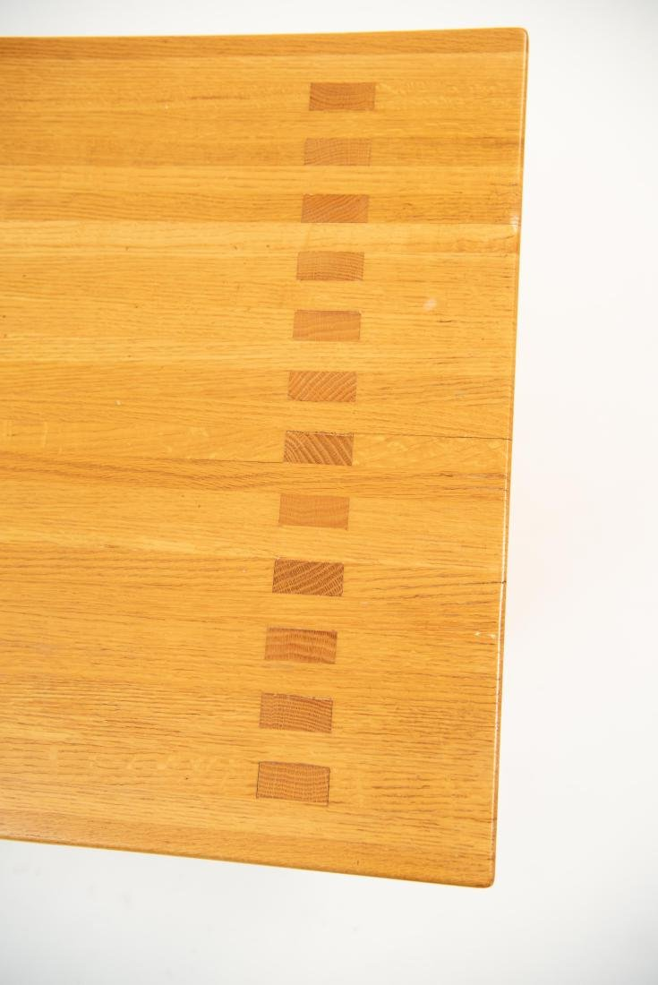 BUTCHER BLOCK MORTISE STYLE COFFEE TABLE - 3