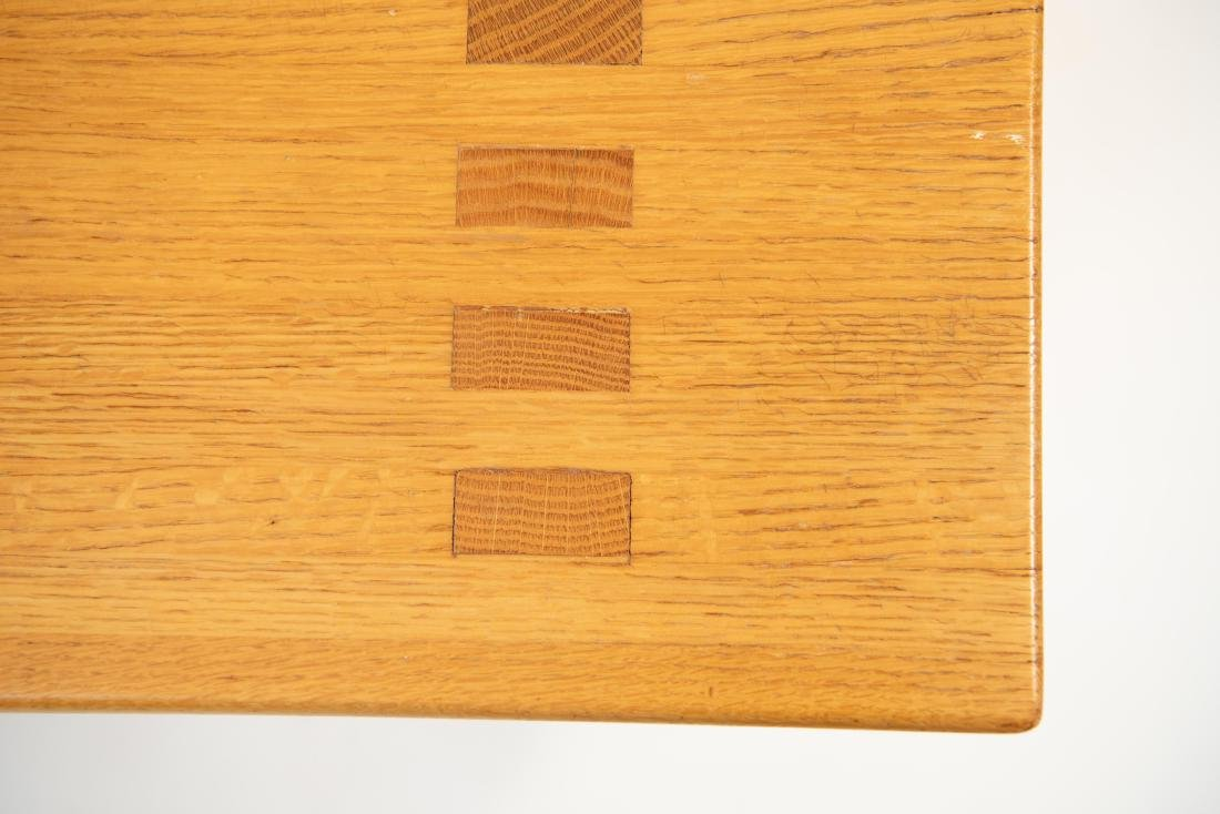 BUTCHER BLOCK MORTISE STYLE COFFEE TABLE - 4