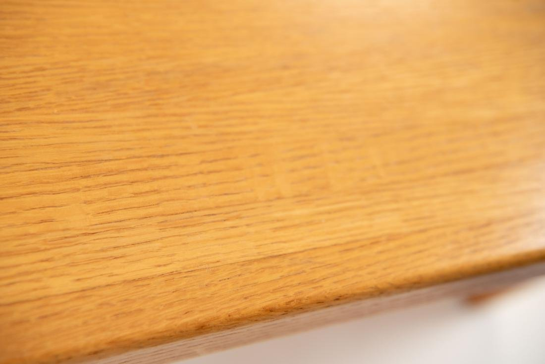 BUTCHER BLOCK MORTISE STYLE COFFEE TABLE - 6