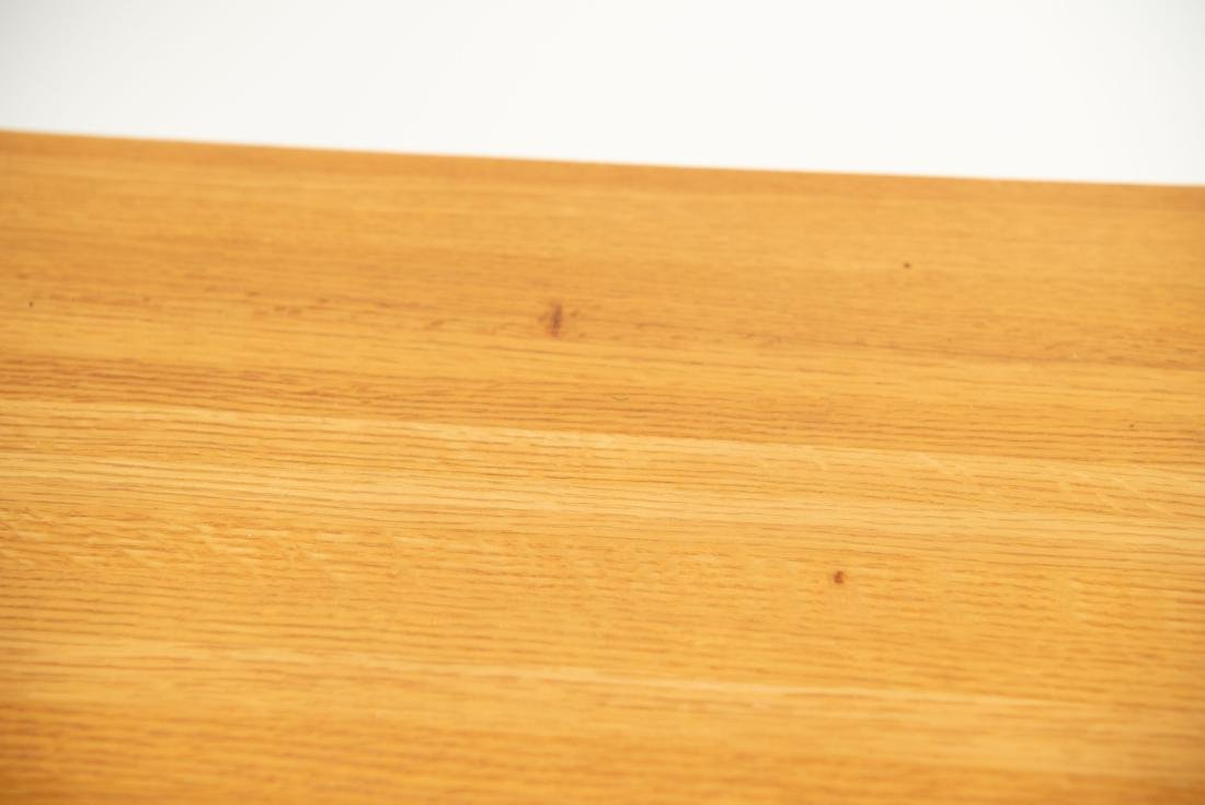 BUTCHER BLOCK MORTISE STYLE COFFEE TABLE - 7
