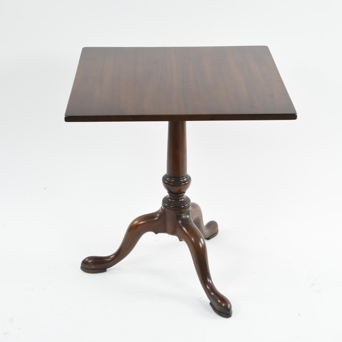 KITTINGER THREE LEG LIBRARY TABLE - 10