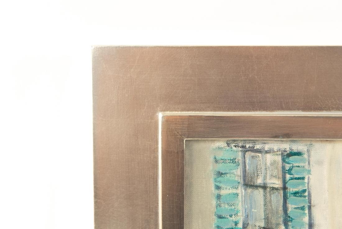 PAULINE SILVER OIL ON BOARD PAINTING - 8