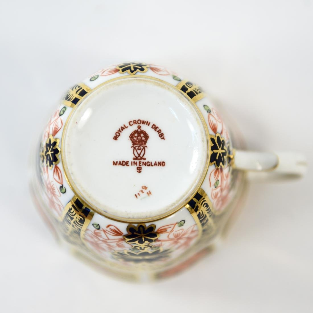 ROYAL CROWN DERBY ENGLISH PORCELAIN SERVICE FOR 12 - 9