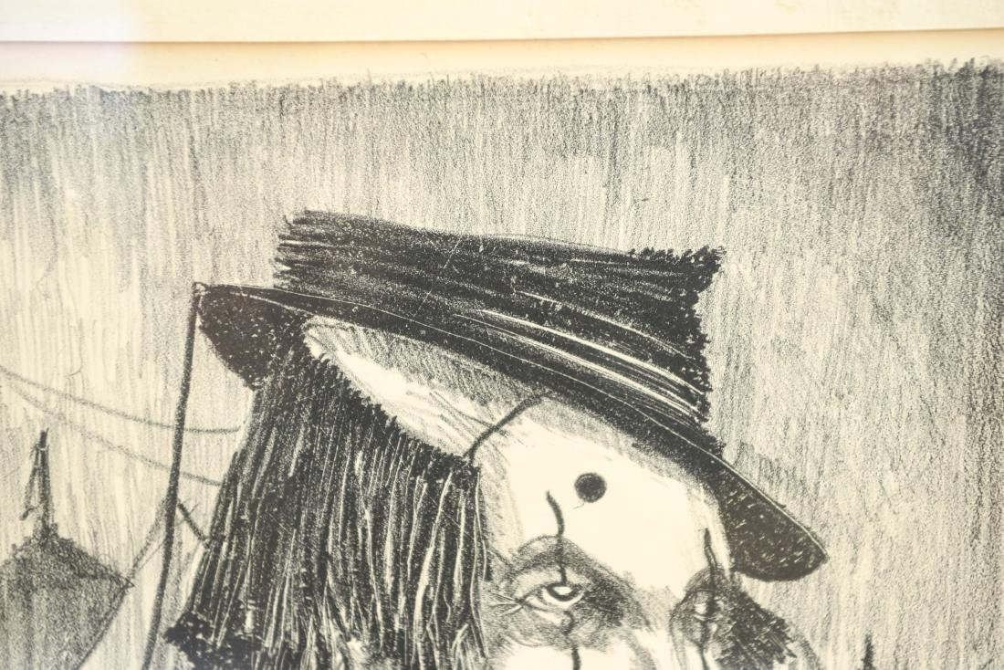 ANTHONY PARTELL CLOWN LITHOGRAPH - 5