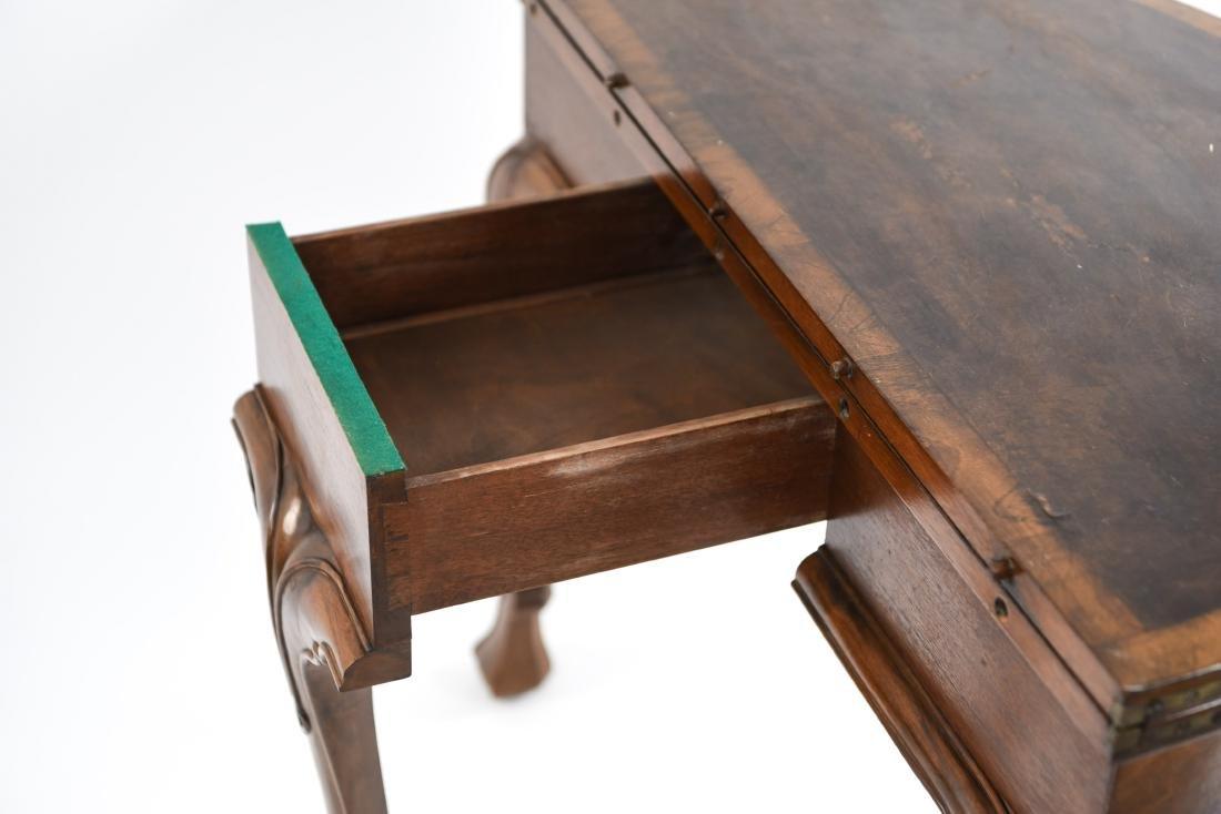 FLIP TOP DEMILUNE TABLE - 13