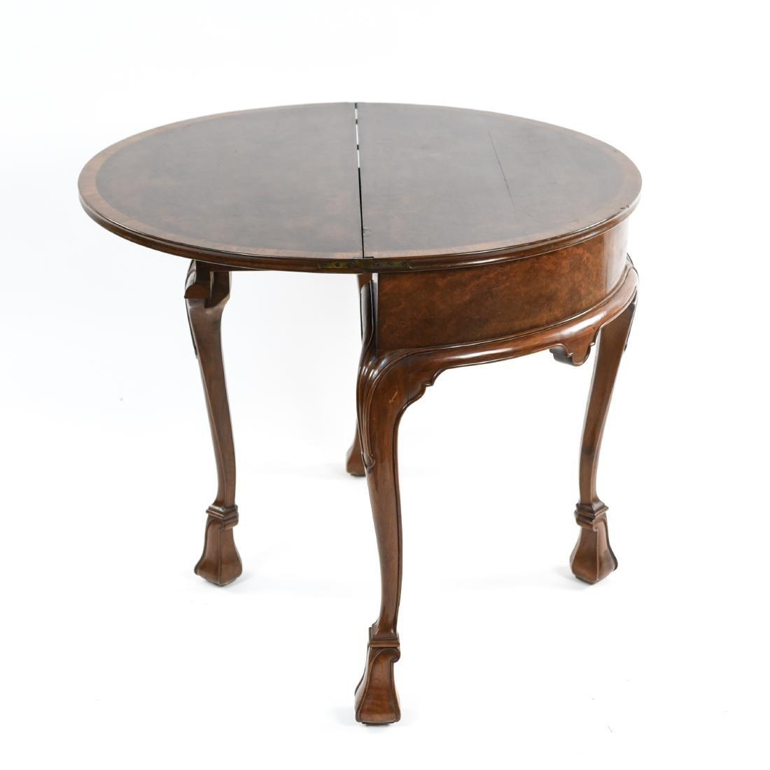 FLIP TOP DEMILUNE TABLE - 14