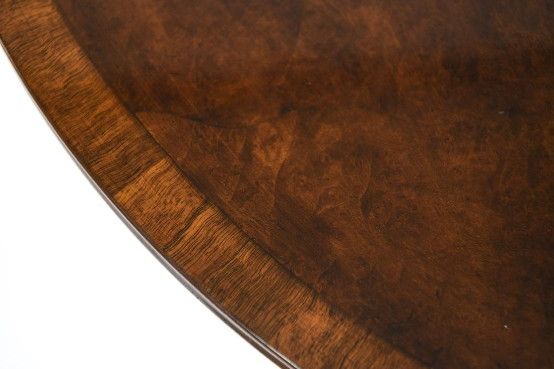FLIP TOP DEMILUNE TABLE - 17