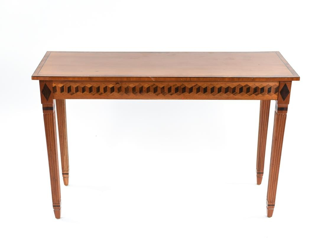 INLAID CONSOLE TABLE