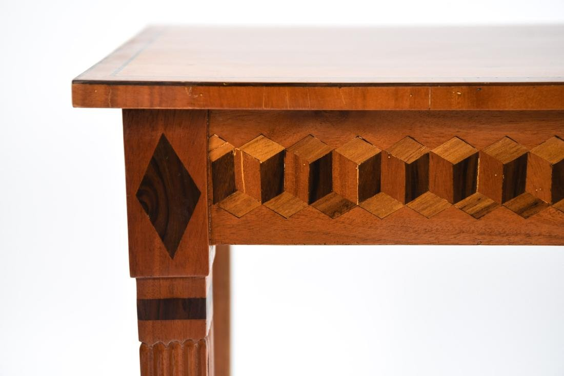 INLAID CONSOLE TABLE - 3