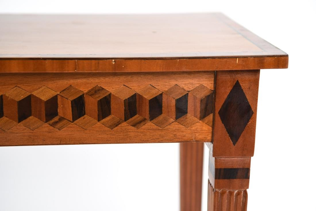 INLAID CONSOLE TABLE - 5
