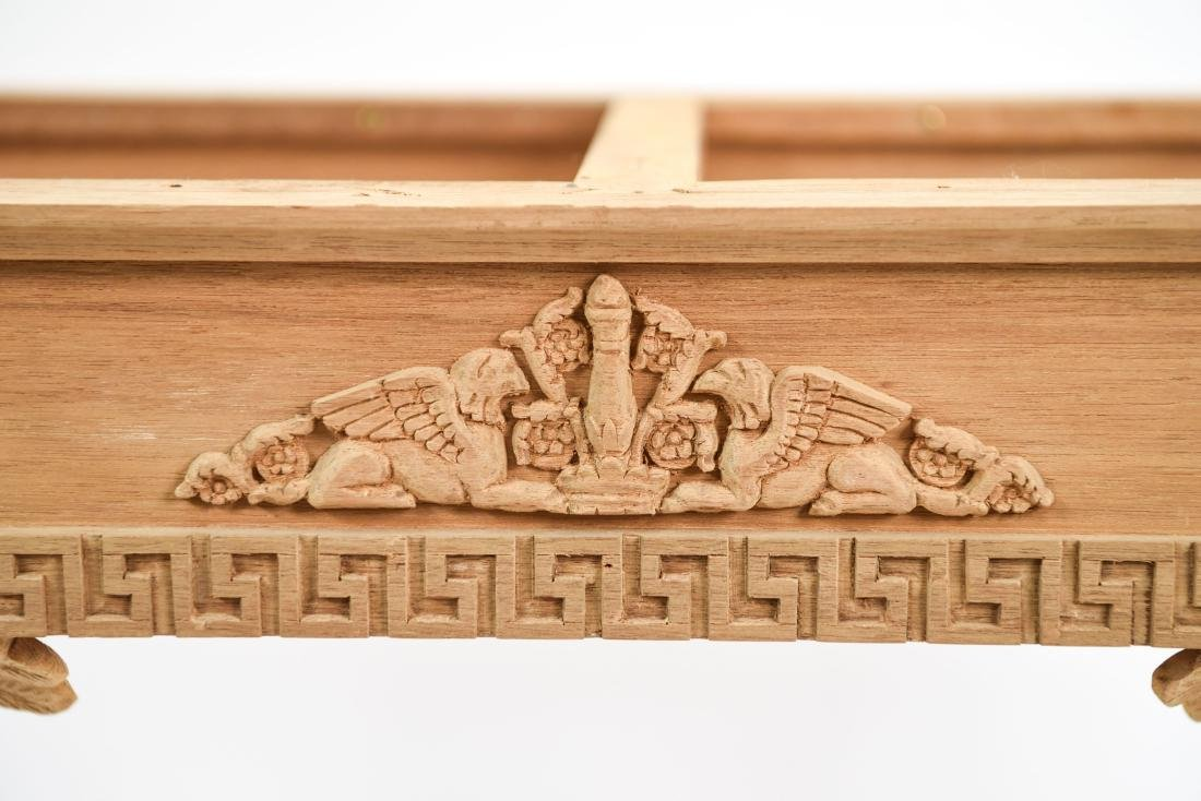 CARVED CONSOLE TABLE BASE - 3