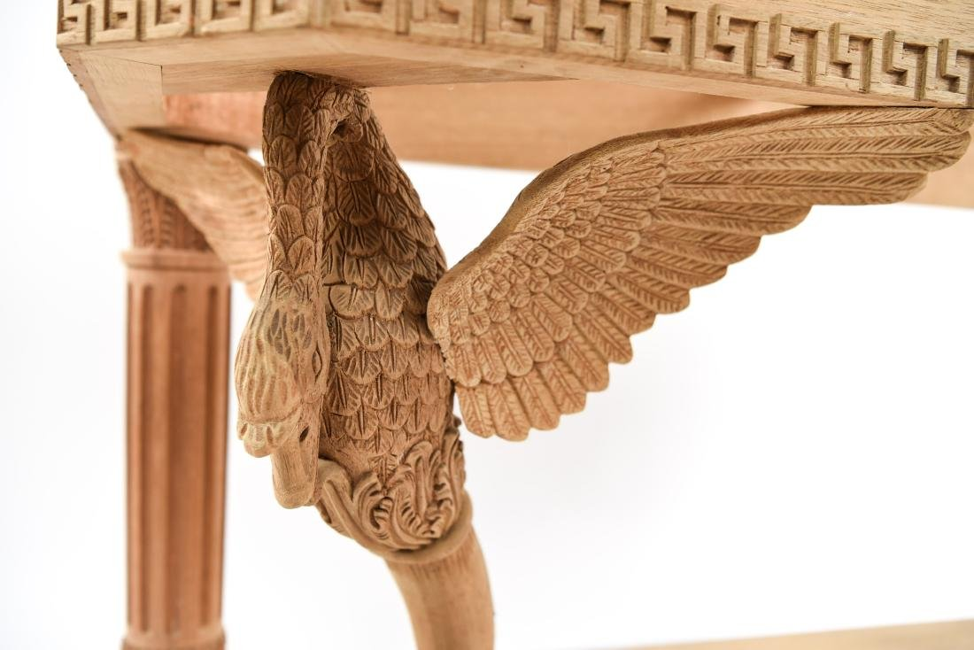 CARVED CONSOLE TABLE BASE - 5