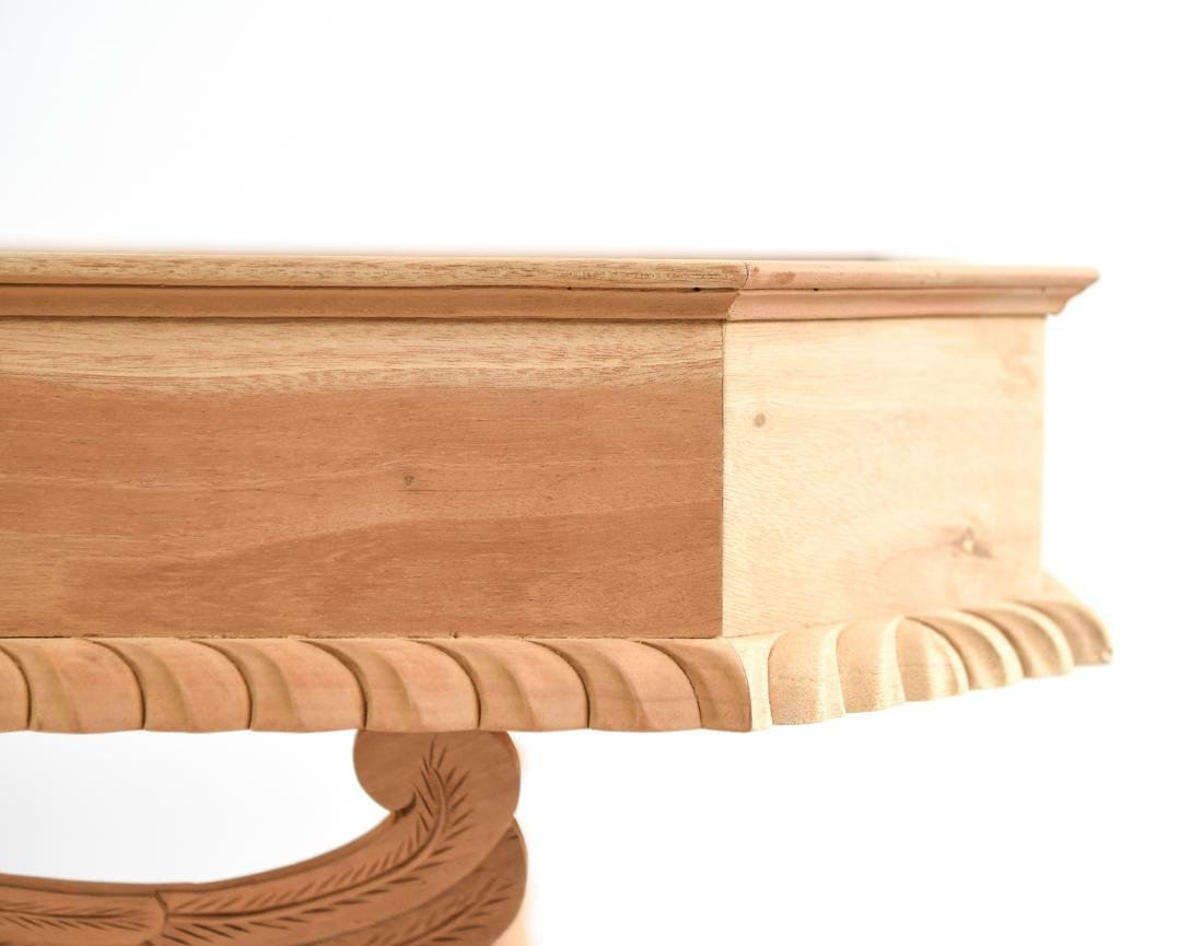 CARVED SPHINX CONSOLE TABLE - 10