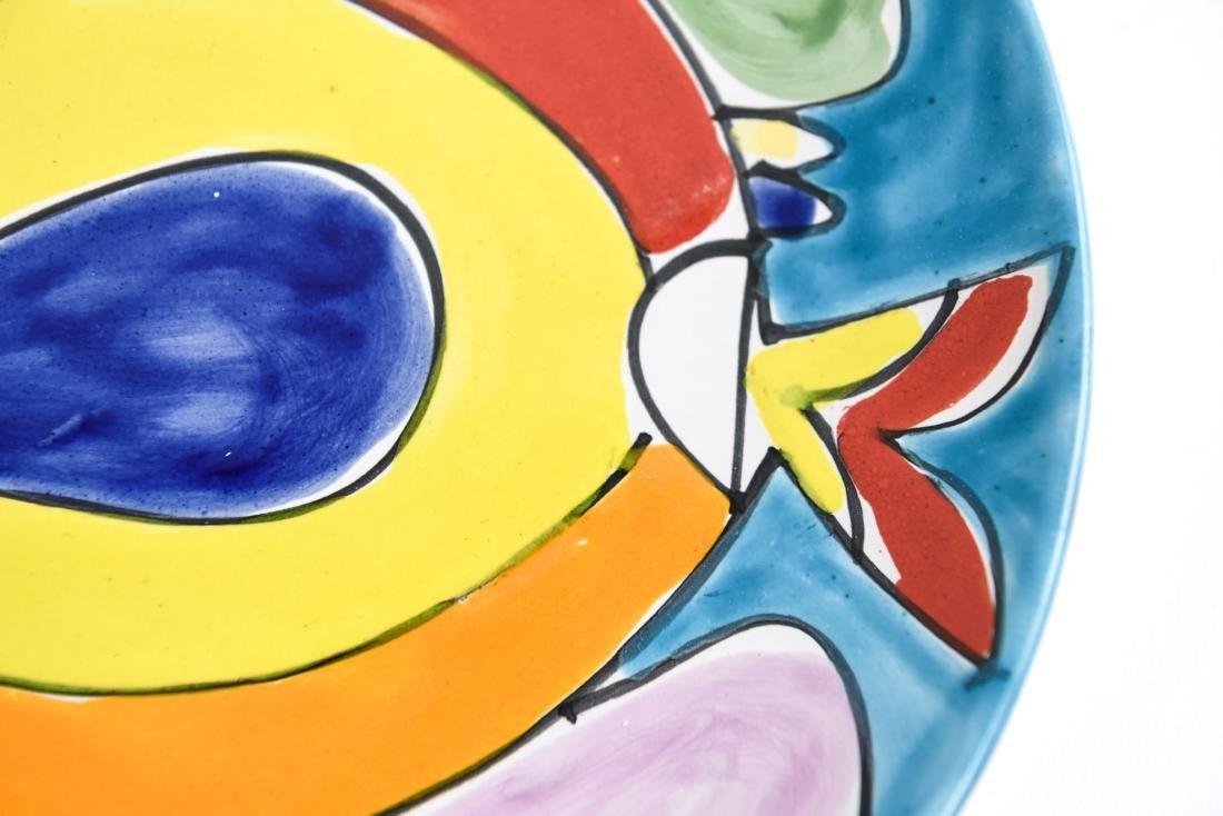(12) ITALIAN CERAMIC LAMUSA PAINTED FISH PLATES - 6