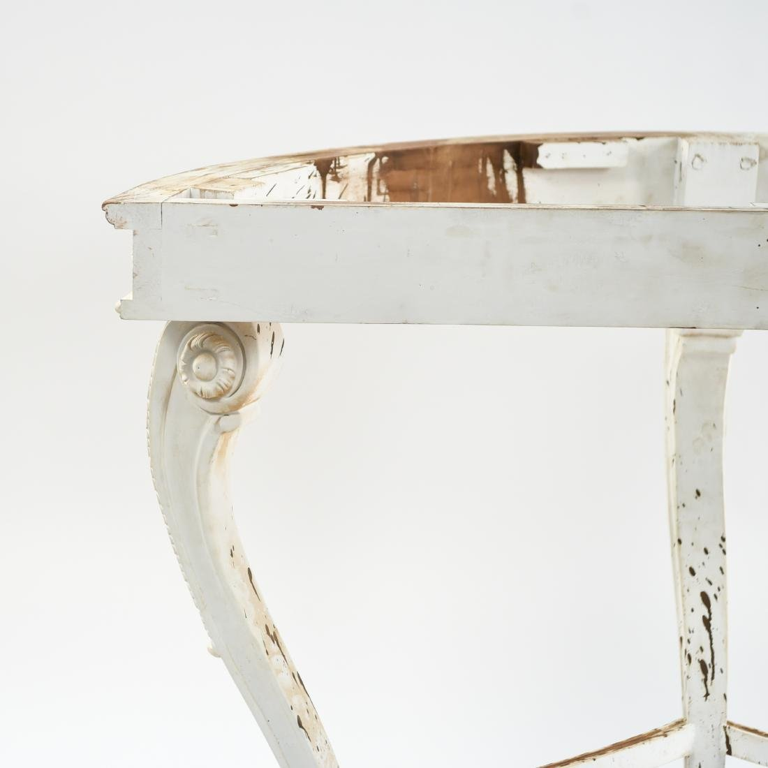 DEMILUNE CONSOLE TABLE BASE - 10